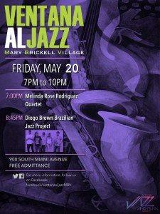 Ventana Al Jazz presents An Evening of Jazz @ Mary Brickell Village | Miami | Florida | United States