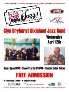In the Lobby Lounge...JAZZ! - Glyn Dryhurst Dixieland Jazz Band @ Olympia Theater | Miami | Florida | United States