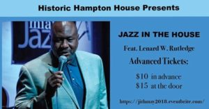 Jazz In The House Feat. LeNard W. Rutledge @ Hampton House | Miami | Florida | United States