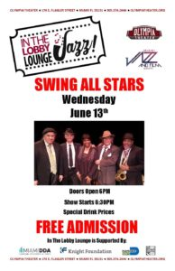 Swing All Stars @ Olympia Theater   Miami   Florida   United States